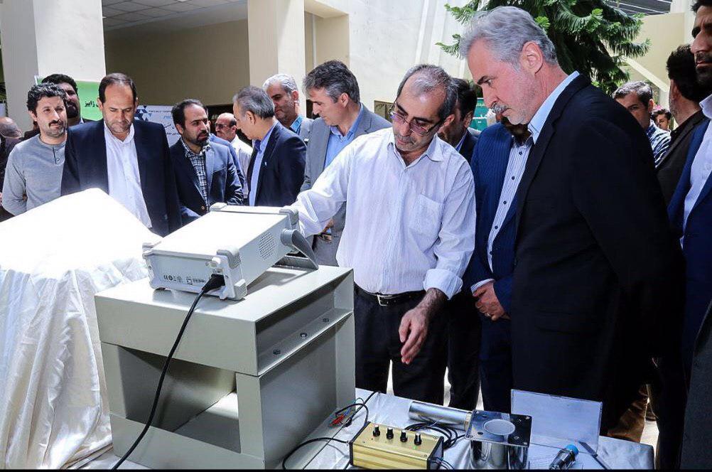 رونمایی از۶ محصول فناورانه جدید در پارک علم و فناوری آذربایجان شرقی