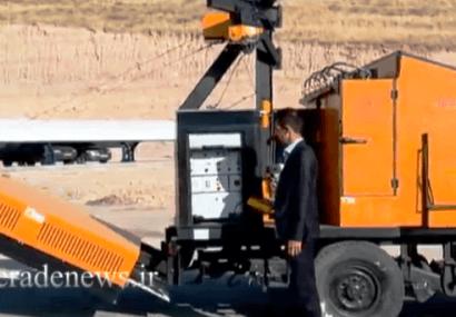 طراحی و ساخت دستگاه ترمیم آسفالت معابر