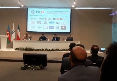 سخنرانی رئیس پارک علم و فناوری آذربایجان شرقی در همایش شرکتهای دانش بنیان و فناور ایران و آذربایجان