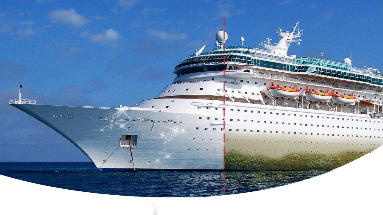 تولید نانوپوشش ضد خزه برای محافظت از بدنه کشتیها