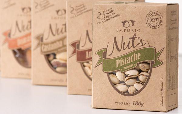 بسته بندی آجیل با پلیمر گیاهی ضد میکروب