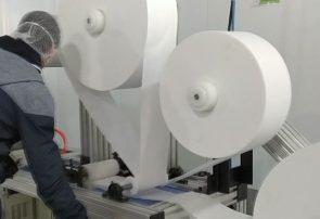 تولید روزانه ۱۵ هزار ماسک n۹۵ در اردبیل