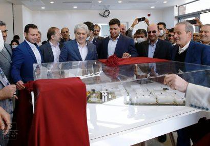 افتتاح پردیس فناوری پارک علم و فناوری دانشگاه تربیت مدرس
