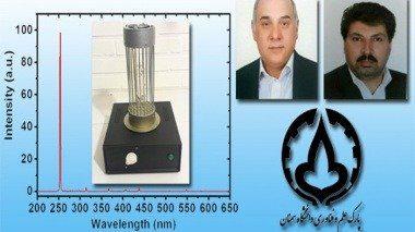 ساخت دستگاه تولید اشعه UVC در دانشگاه سمنان