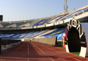 بهرهبرداری از مجهزترین تونل ضدعفونی استادیومهای کشور