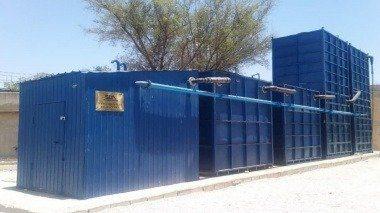 طراحی و ساخت سیستم پیوسته و قابل حمل تصفیه پسابهای خانگی و صنعتی