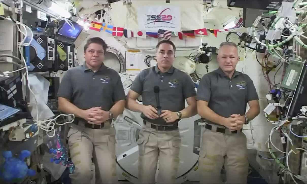 آماده بازگشت ۲ فضانورد ناسا به زمین