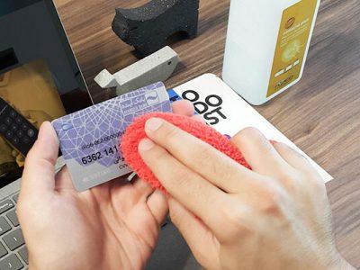 ضدعفونی کارتهای بانکی و ماسک