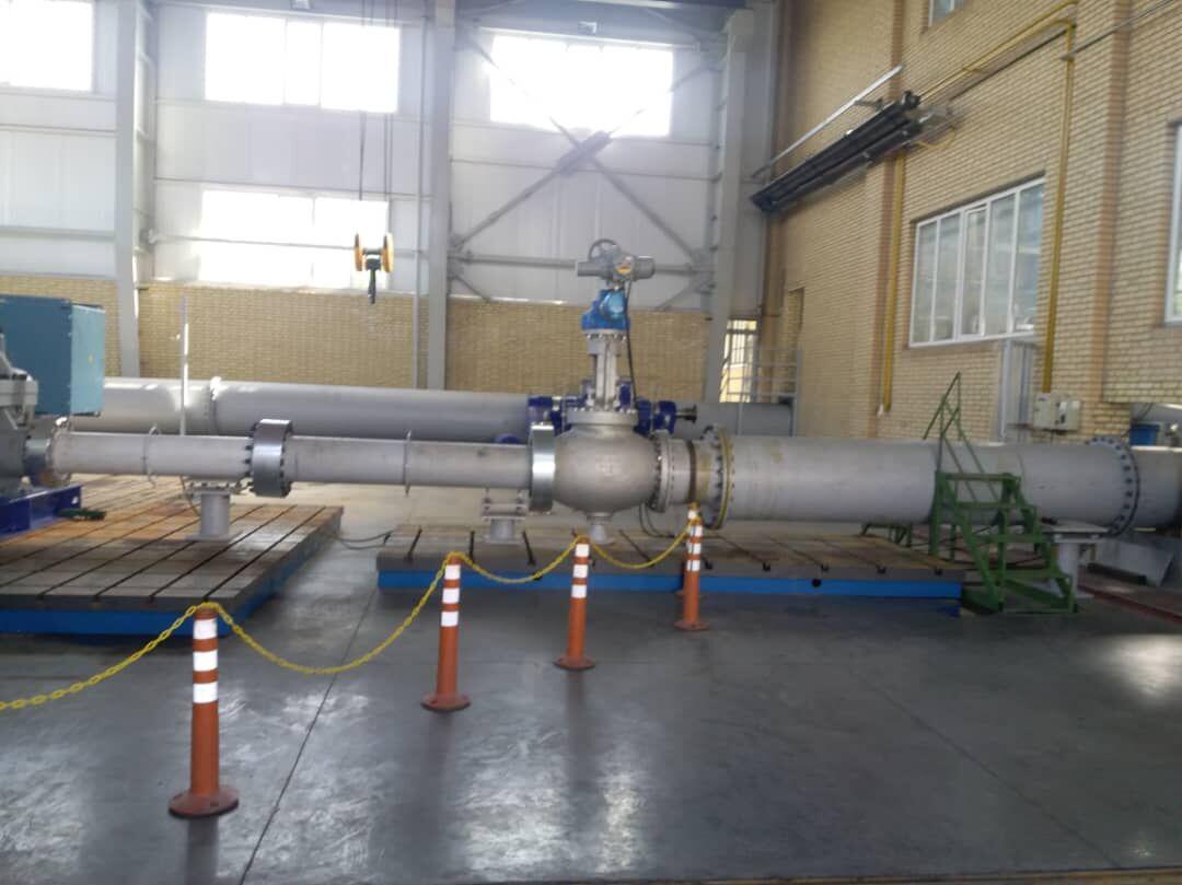 بزرگترین پمپ آب ساخت داخل در تبریز رونمایی شد