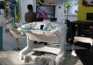 کاربردی شدن ربات جراحی بر روی حیوان و جسد در دو بیمارستان
