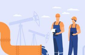 گزارش تصویری مطالعات پتانسیل یابی مخازن نفت شمال غرب کشور