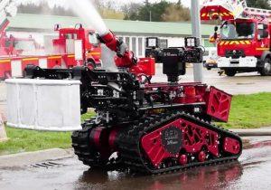 ساخت رباتهایی که با سرعت و راندمان بالا اقدام به اطفای حریق میکنند