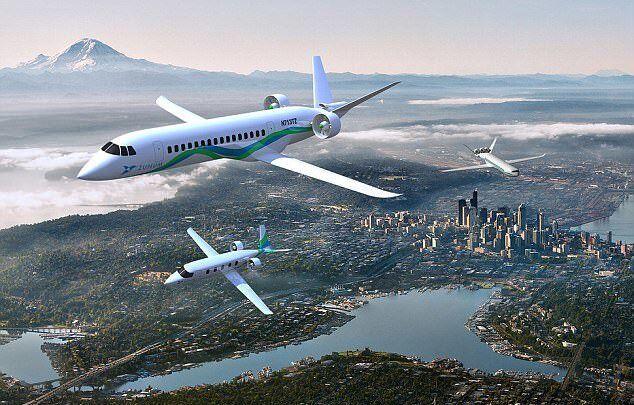 کمک پاکسازی هوا با هواپیماهای هیبریدی-الکتریکی