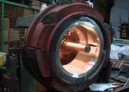 رونمایی از یاتاقان فوق سنگین به روش سانتریفیوژ با کاربردهای نیروگاهی