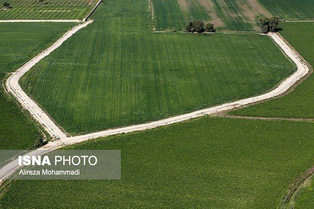 پایش اراضی و محصولات کشاورزی با ماهواره