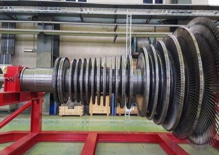 با ساخت نخستین روتور توربین بخار؛ ایران در میان پنج کشور برتر سازنده روتور توربین جهان قرار گرفت