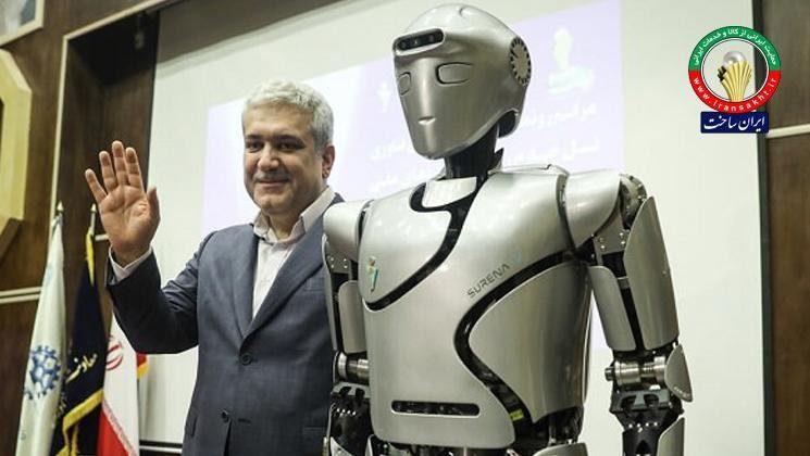 «سورنا» ایرانی در جمع ۱۰ ربات برتر سال ۲۰۲۰ جهان