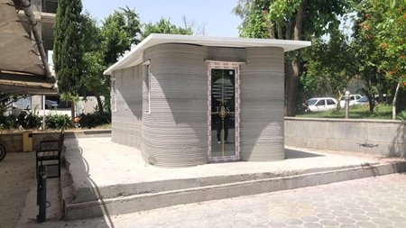 ساخت نخستین ساختمان با فناوری چاپسه بعدی در تهران